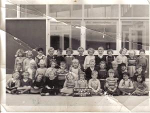 Narrabundah Infants 1952 - Courtesy Bill McIntyre