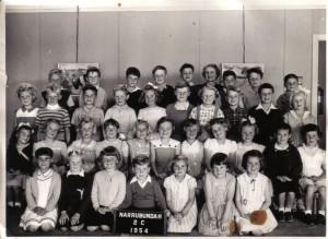 Narrabundah Infants 1954 - Courtesy Bill McIntyre - 4th row fifth from right
