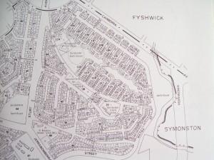 Dept Interior Map of Narrabundah 1960s
